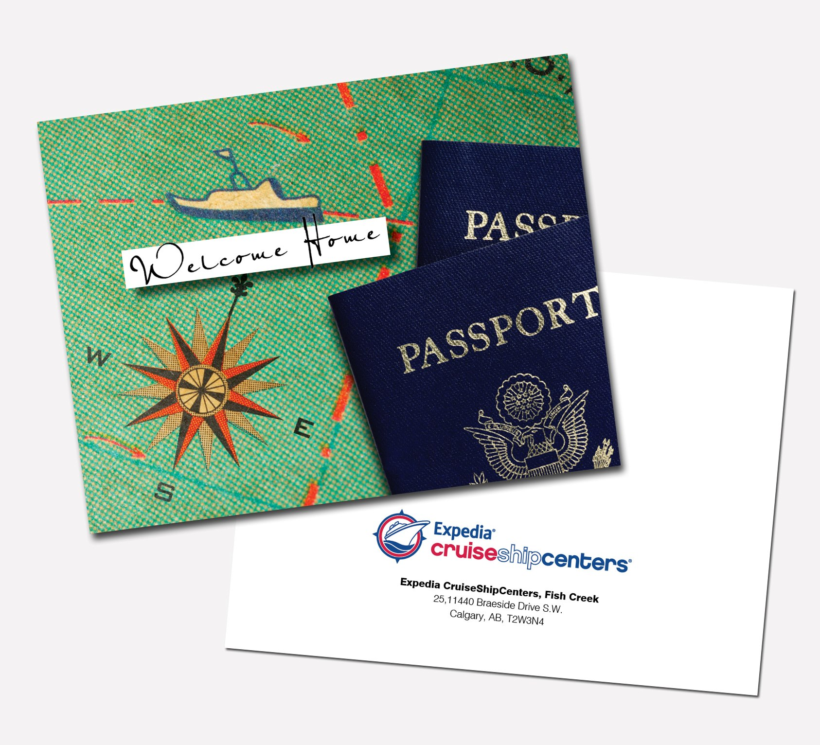 Expedia Postcard