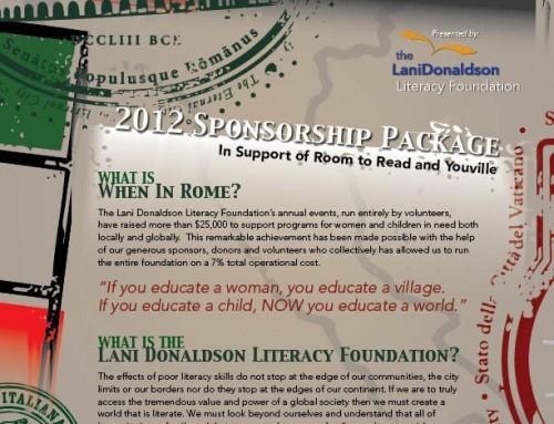 When In Rome Sponsorship