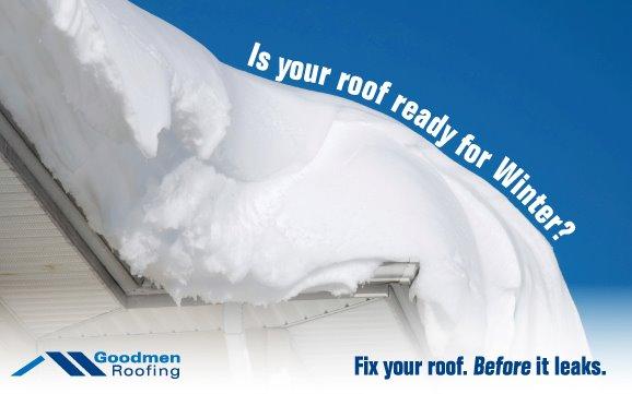 Goodmen Roofing Website