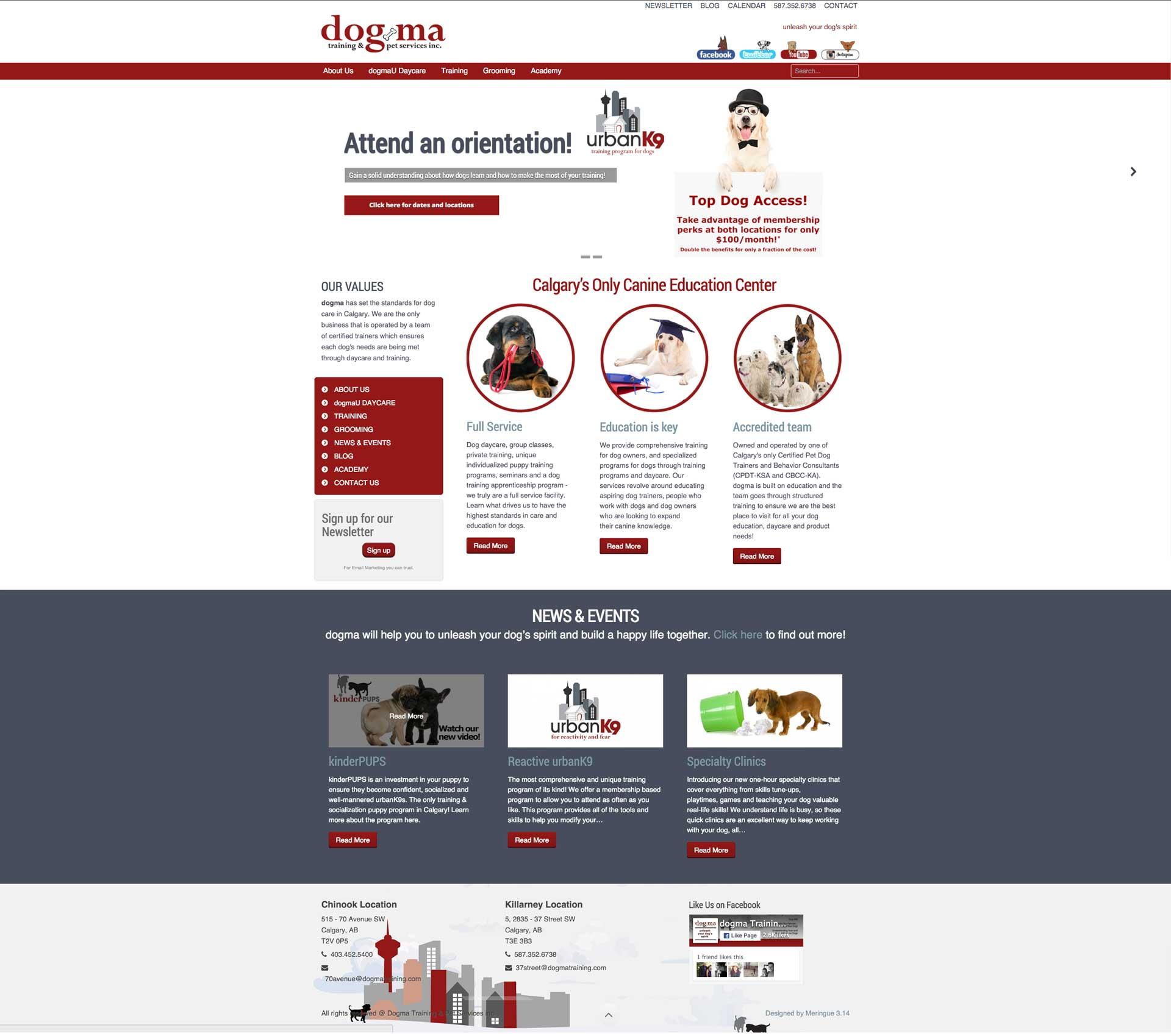 dogma Website