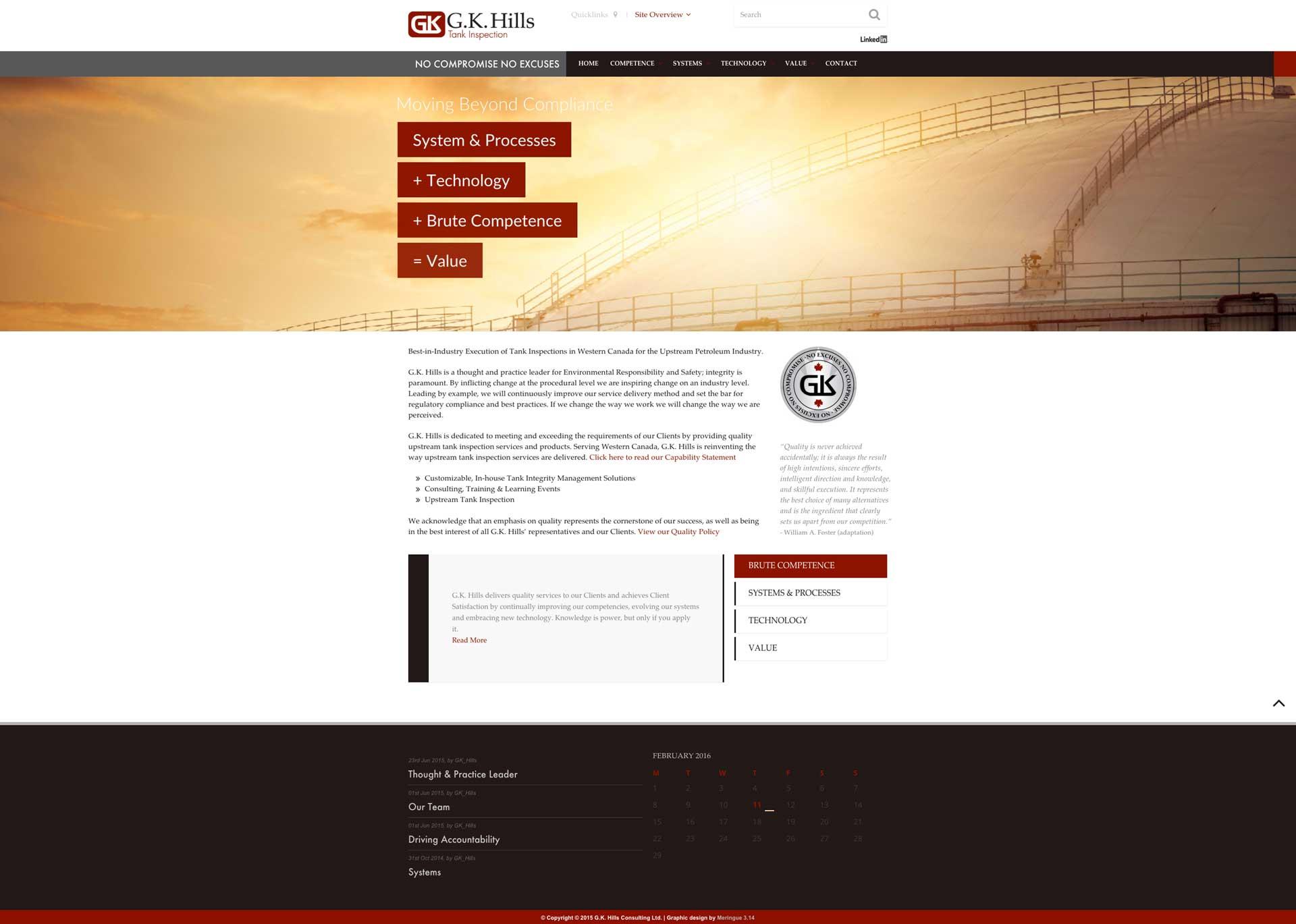 GK Hills Website